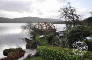 Oak Framed Boathouse, Lake Windermere