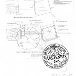 Aerial Plan of New Build Oak Framed Summerhouse and Office by Carpenter Oak Ltd Devon