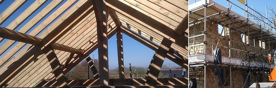 Ash Theasby's Oak Framed Roof in Cornwall