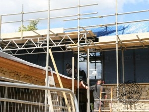 Work underway on Contemporary Eco New Build House