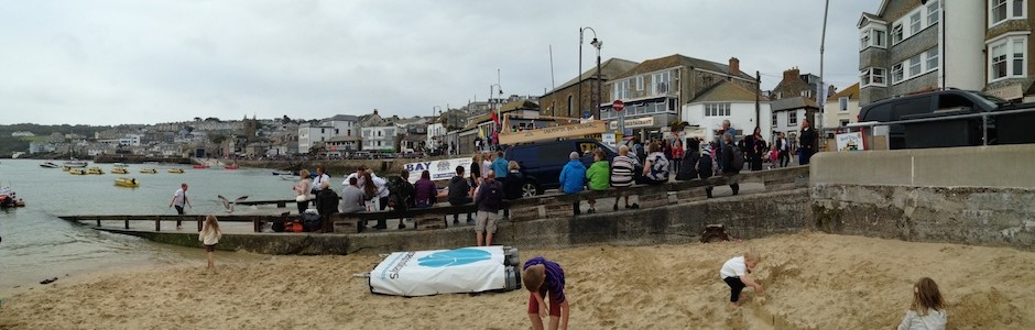 Carpenter Oak Cornwall in the St Ives Raft Races!