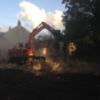 Self Build Timber Frame - Demolition Stages
