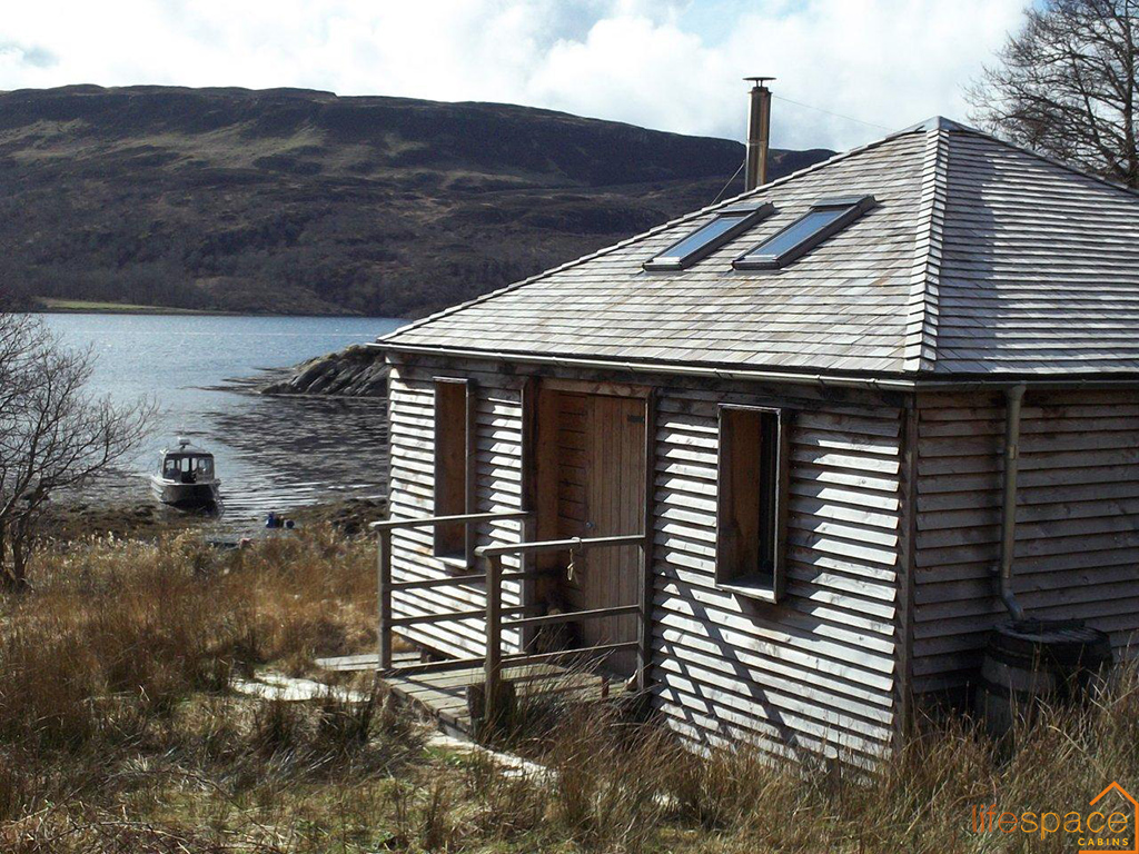 Bothy cabin retreat Scotland den blog small spaces