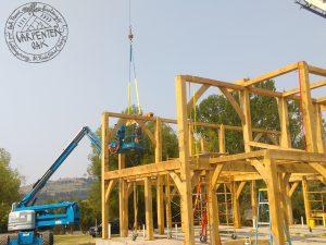 Bespoke oak framed contruction