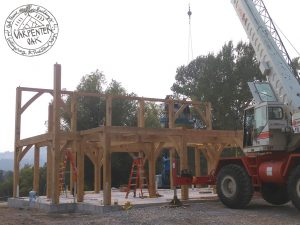 How to build an oak frame