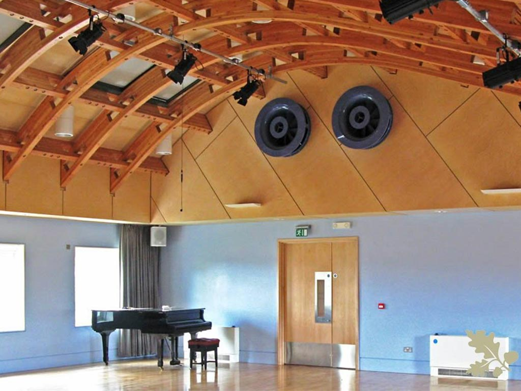 Glulam Frame Dance Studio