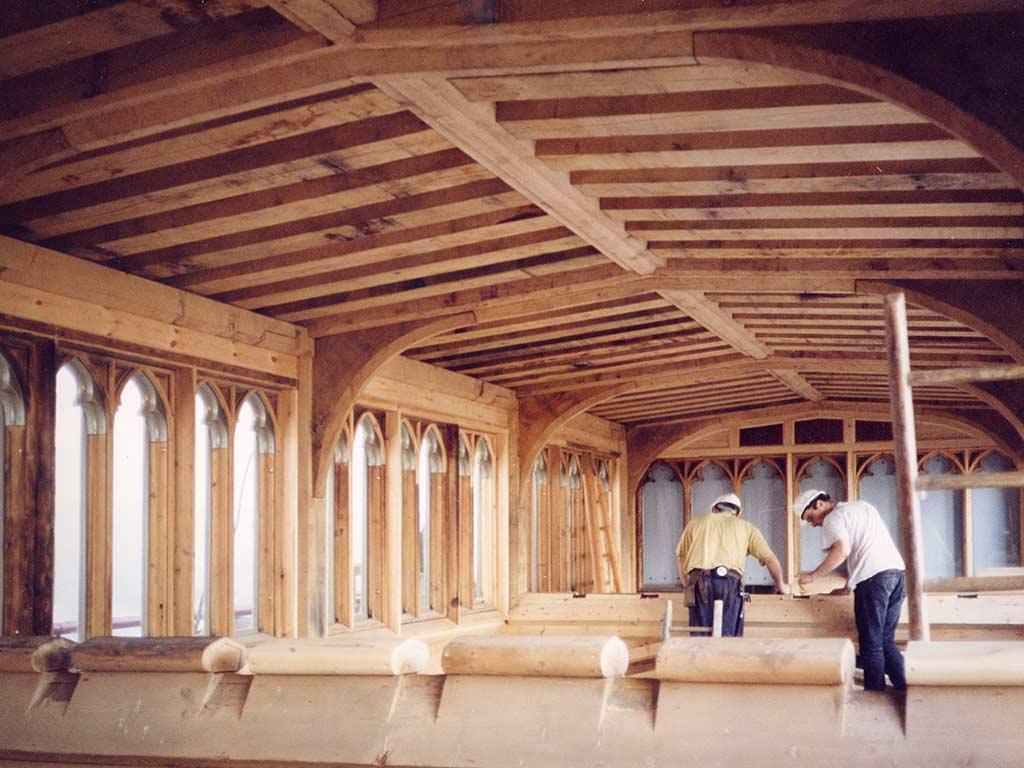 Carpenter Oak Conservation Project Windsor Castle