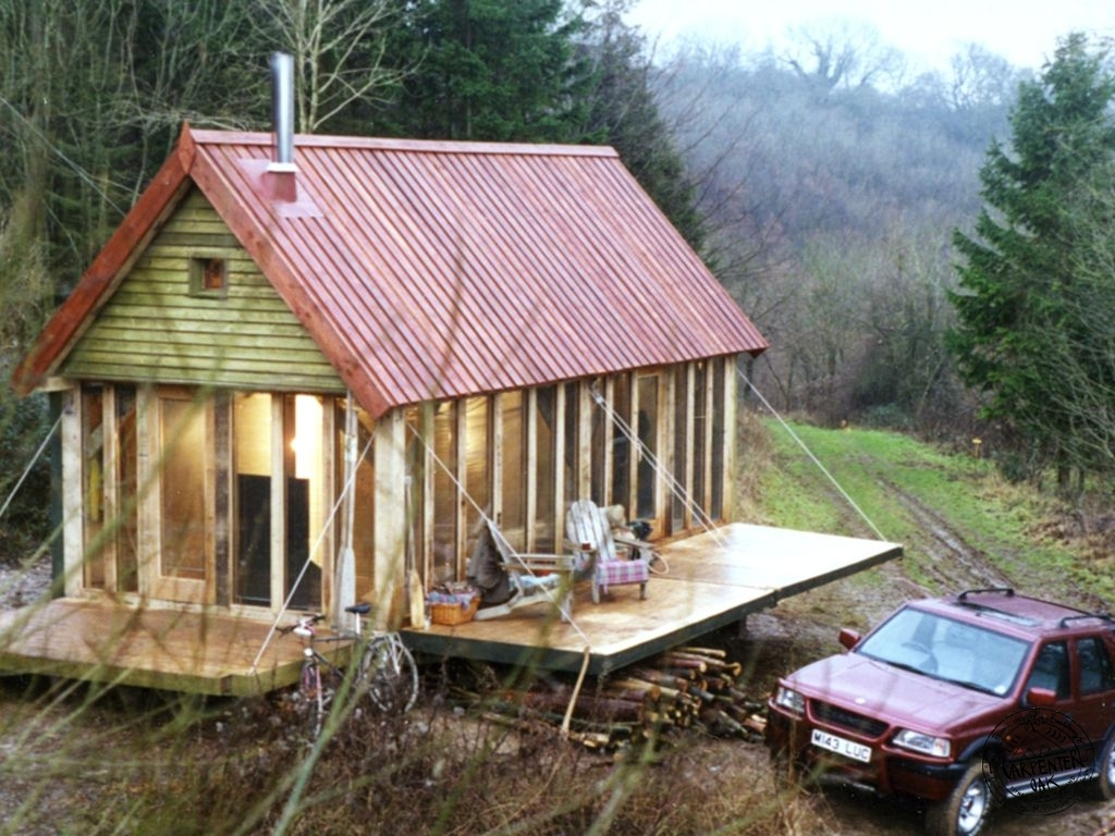 Oak Framed Cabins, Amazing Small Spaces - Foresters Cabin