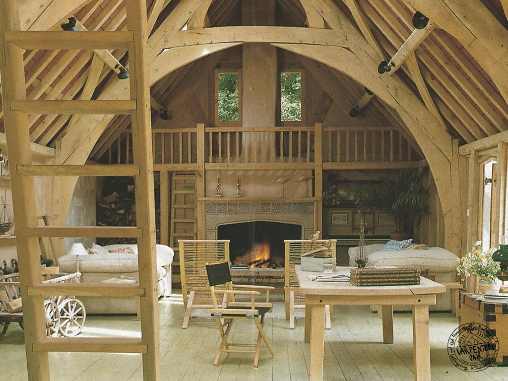 The Iconic Segull House Oak Timber Framed Barn Conversion
