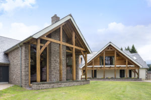 Oak framed self build small house in cornwall featured in Build It
