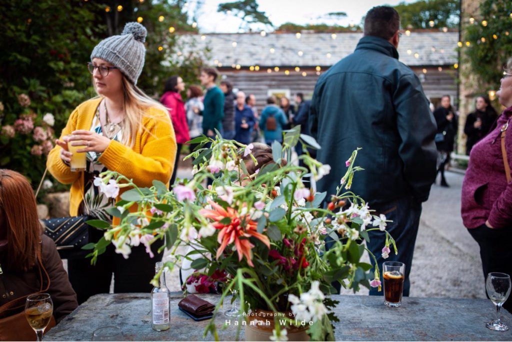 Nancarrow Events Barn October Feast Carpenter Oak