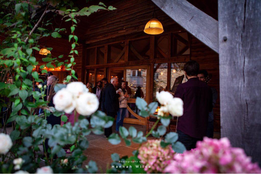 Nancarrow Events Barn Carpenter Oak