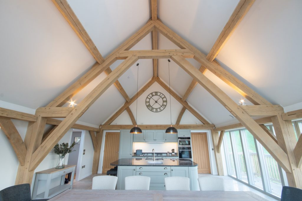 oak frame kitchen