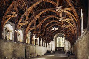 Westminster Hall timber framed roof