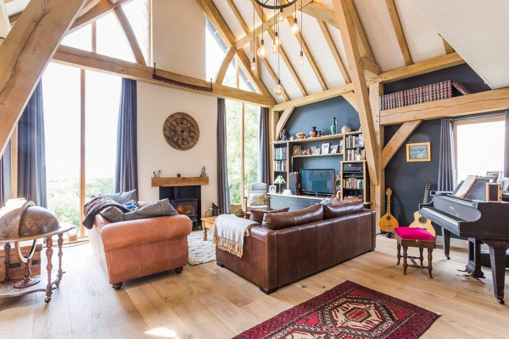 arran oak framed home