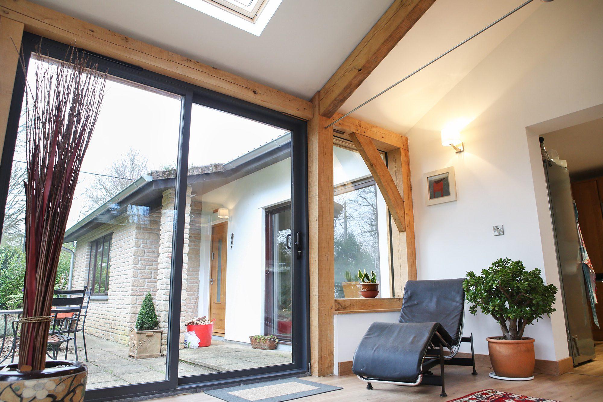 Oak Frame Glazing, Windows and Doors | Carpenter Oak