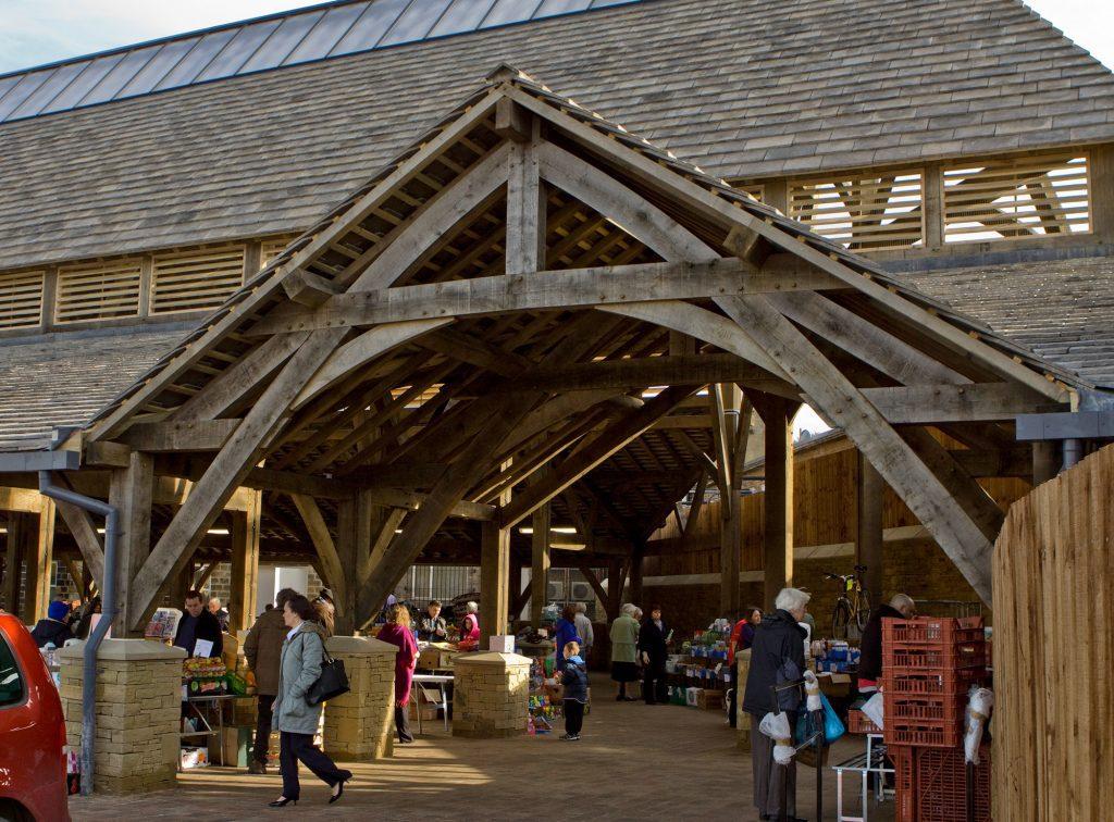penistone market entrance