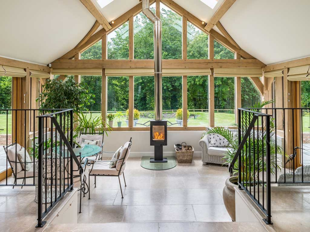 oak frame gable end