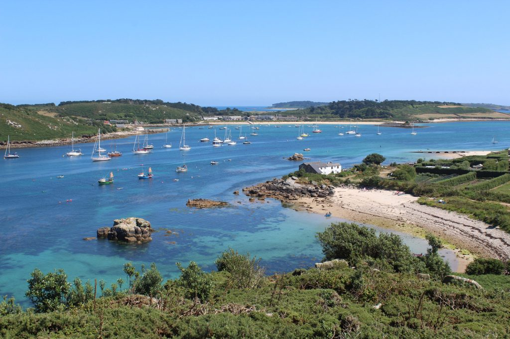 scilly beaches