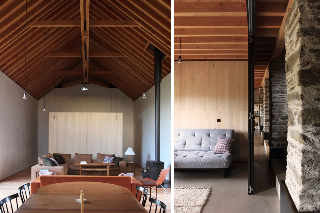 Redhill Barn Timber Frame Conversion Interior Montage