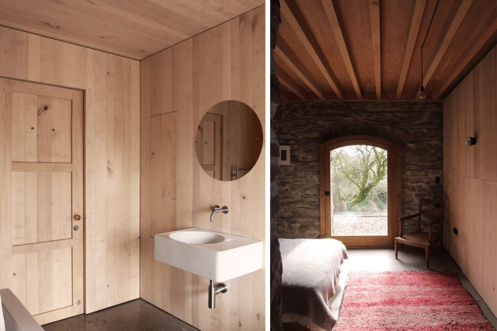 Redhill Barn Timber Frame Conversion Bathroom and Bedroom