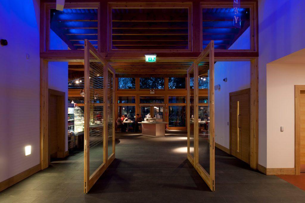 Robert Burns museum by Carpenter Oak Scotland